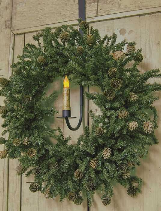 Adjustable Decorative Hanging Holder With Wreath Hook