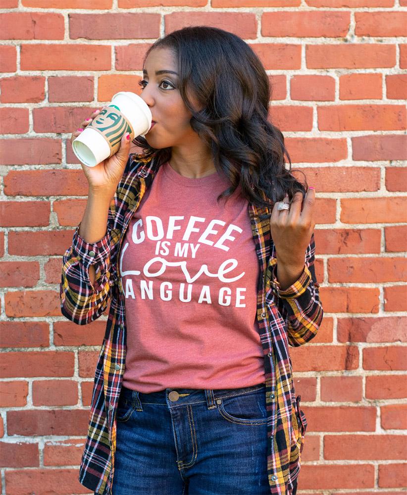 Coffee Is My Love Language Top