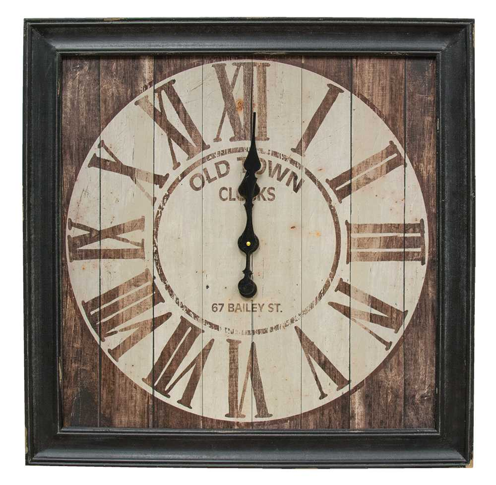 Accents Framed Old Town Clock The Hearthside Collection