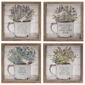 {[en]:Enamel Mug Floral Box Sign