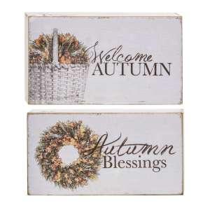 {[en]:Welcome Autumn Block, 2 asst -