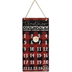 Buffalo Check Christmas Countdown - #34665