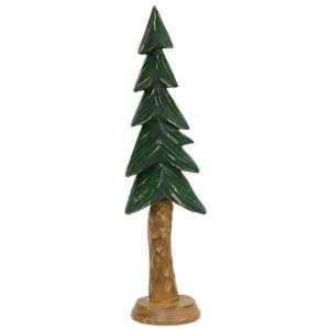 "Resin Carved Alpine Tree - 9"" - # 13140"
