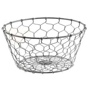 Galvanized Wire Basket - # 13520
