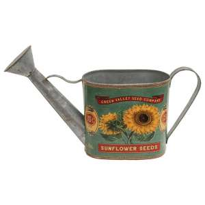 Green Valley Sunflower Seeds Watering Can - # 60283