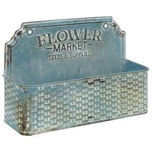 Flower Market Metal Basket - # 60317