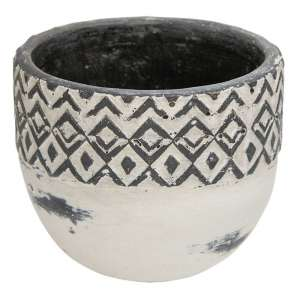 Geometric Ceramic Bowl - # 70039