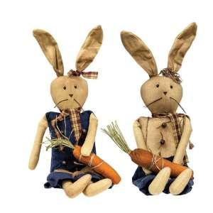 Boy and Girl Bunnies - 2 asst - # CS37696