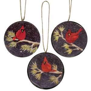 Cardinal Ornaments - # 33311