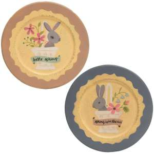 Spring is in the Air Bunny Plate - 2 asst - # 34758