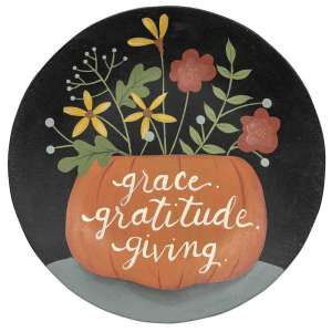 Grace Gratitude Giving Plate #35093