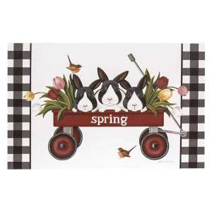 Spring Wagon Box Sign #35184