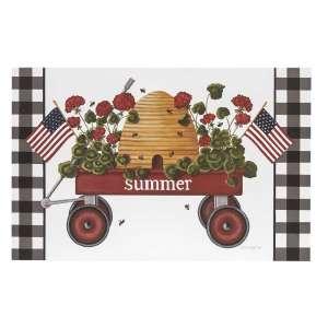 Summer Wagon Box Sign #35185