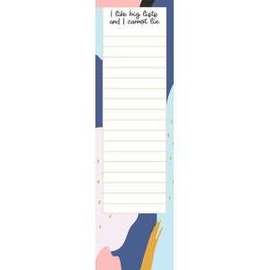 I Like Big Lists Notepad - # 50043