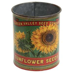 Green Valley Sunflower Seeds Metal Can - # 60282