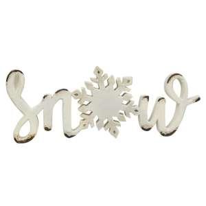 Snow Word Sitter #13158