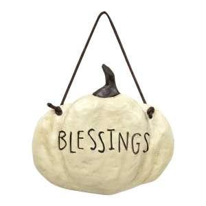 Blessings Pumpkin Hanger #13161