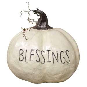 Blessings Pumpkin #13163