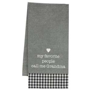 Favorite People Dish Towel #28030