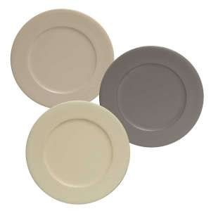 "Round Rim Plate 9.75""- Farmhouse Colors #34593"