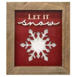 #35045 Let it Snow Sign