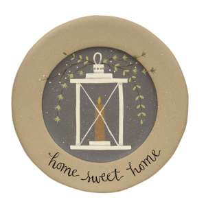Home Sweet Home Lantern Plate #35106