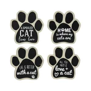 Cat Paw Magnets, 4/Set #35176