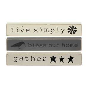 Live Simply Mini Sticks, 3 asst. #35190
