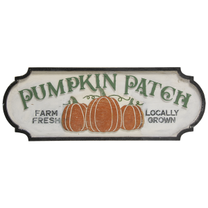 Pumpkin Patch Wooden Sign #60325