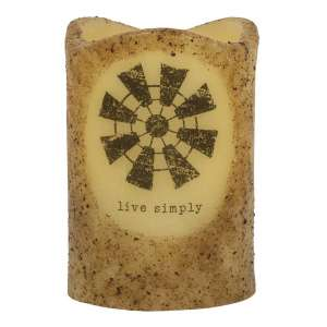 Live Simply Windmill Timer Pillar #84833