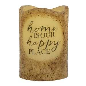 Happy Place Timer Pillar #84835