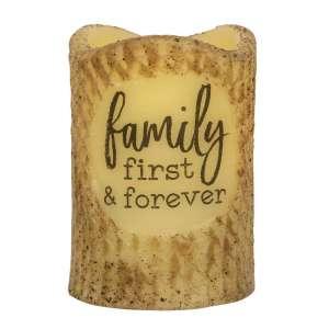 Family First Forever Timer Pillar #84840