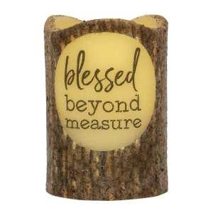 Blessed Beyond Measure Timer Pillar #84841