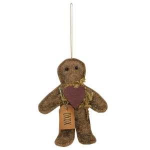 XOXO Gingerbread Ornament #CS37858