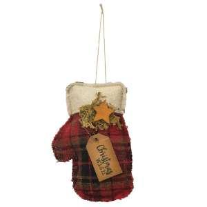Christmas Wish Mitten Ornament #CS37864