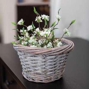 Gray Split Willow Basket #BB3A136S