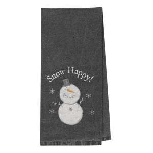 Snow Happy Dish Towel #28025