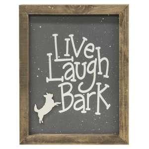 #35314 Live Laugh Bark Frame