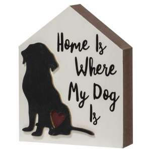 #35332 Home Is Where My Dog Is Chunky House