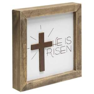 #35336 He Is Risen Frame