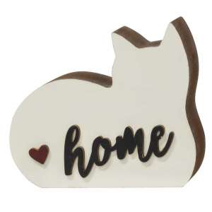 #35341 Home Chunky Cat Sillhouette