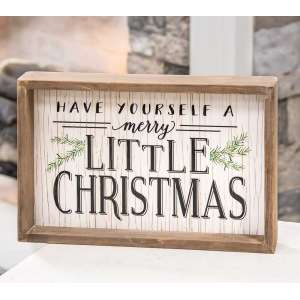 #65159 Have Yourself a Merry Little Christmas Sign