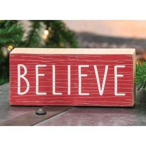 #65160 Believe Sign
