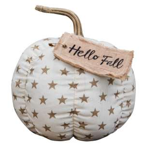 Hello Fall Star Pumpkin #CS37877