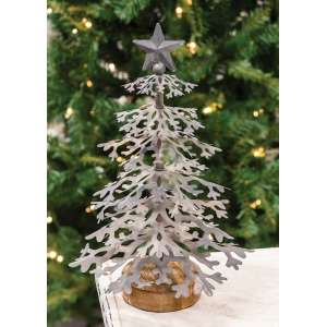 #28074, Galvanized Christmas Tree, Small
