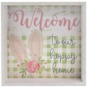 Hoppy Home Box Sign, 2 Asstd. #35241