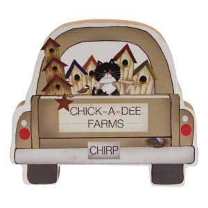 Chick-A-Dee Farms Chunky Truck w/Cat #35292C