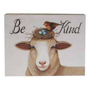 Be Kind Box Sign #35366