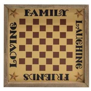 Family Checkerboard Frame #35387