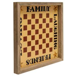 Family Checkerboard Frame #35387